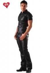 Pantalon faux cuir Classic Cut Homme